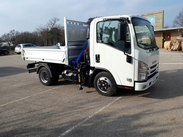 Isuzu M21 GROUND M21 GROUND E MECA BENNE ALU 2600 + PM3923 RADIO