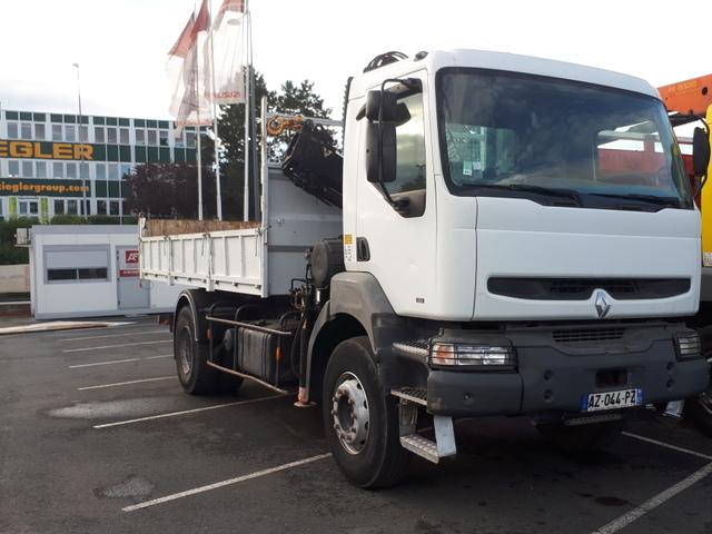 Renault Trucks Kerax Renault Kerax Benne Arrière et Grue Hiab 10T/M